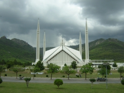 day view of Faisal mosque