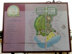 Lake View Park Map